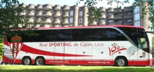 SportingBus hoja rojiblanca