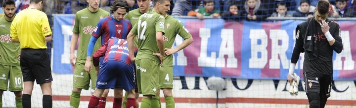 Eibar 3 – Sporting 0 (Resumen del partido y rueda de prensa)