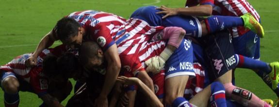Sigue la racha Sporting 2-0 Osasuna (Resumen partido,rueda de prensa)