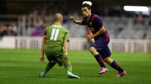 Barcelona b Sporting hojarojiblanca