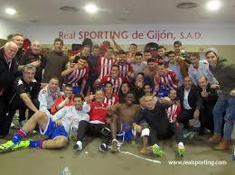 Una piña. Sporting 2-1 Alcorcon (Partido y rueda de prensa)