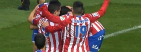 Que siga la fiesta (Sporting 4-1 Mirandes) Resumen partido y rueda de prensa