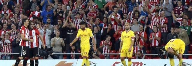 Resumen del partido en Bilbao.