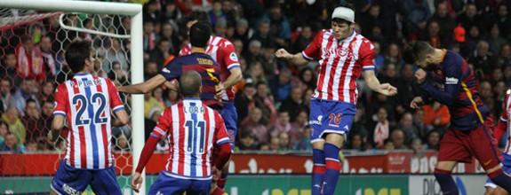 Dando la cara (Sporting 1-3 Barcelona)