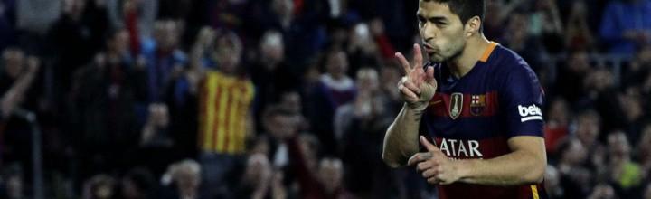 Barcelona 2+4 de Clos Gómez sporting 0 (Barcelona 6-0 Sporting)